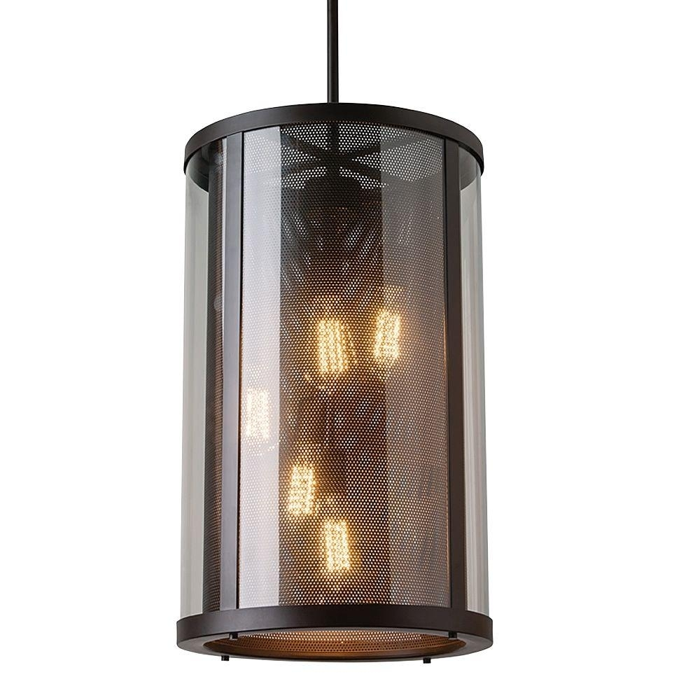 Feiss Bluffton Collection 5 Light Oil Rubbed Bronze Outdoor Hanging Intended For Oil Rubbed Bronze Outdoor Hanging Lights (#4 of 15)