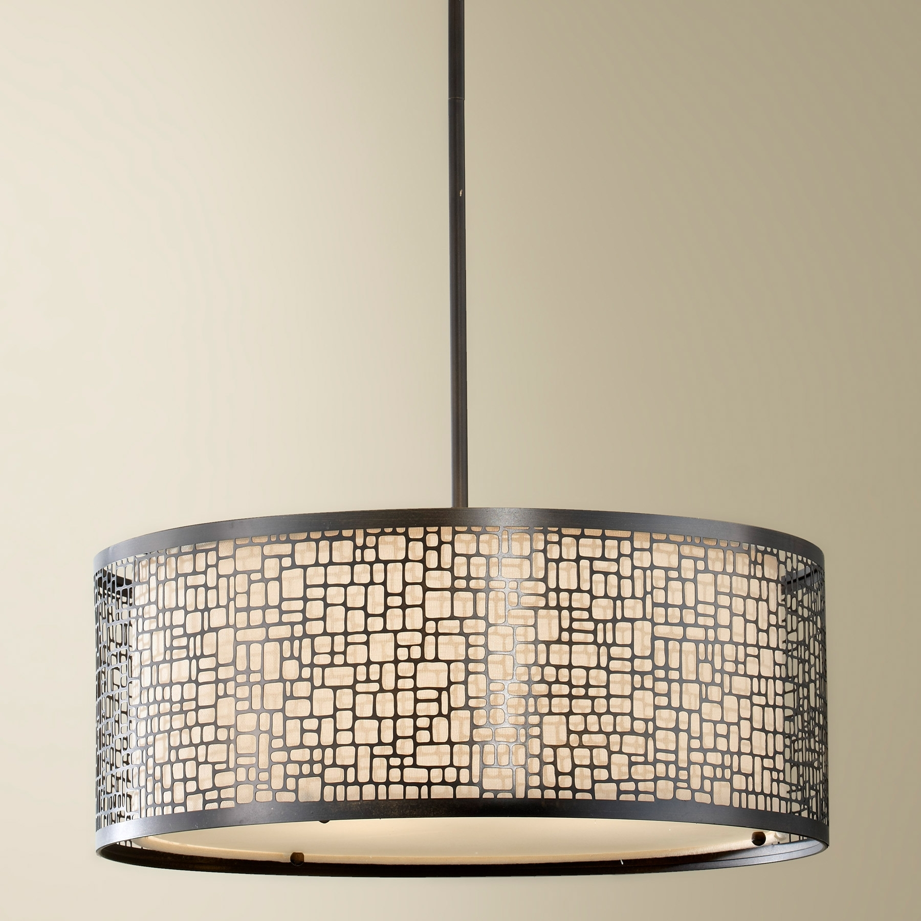 Feiss F2638/3Lab Joplin Pendant With Modern Outdoor Pendant Cylinder Lighting Fixtures (#5 of 15)