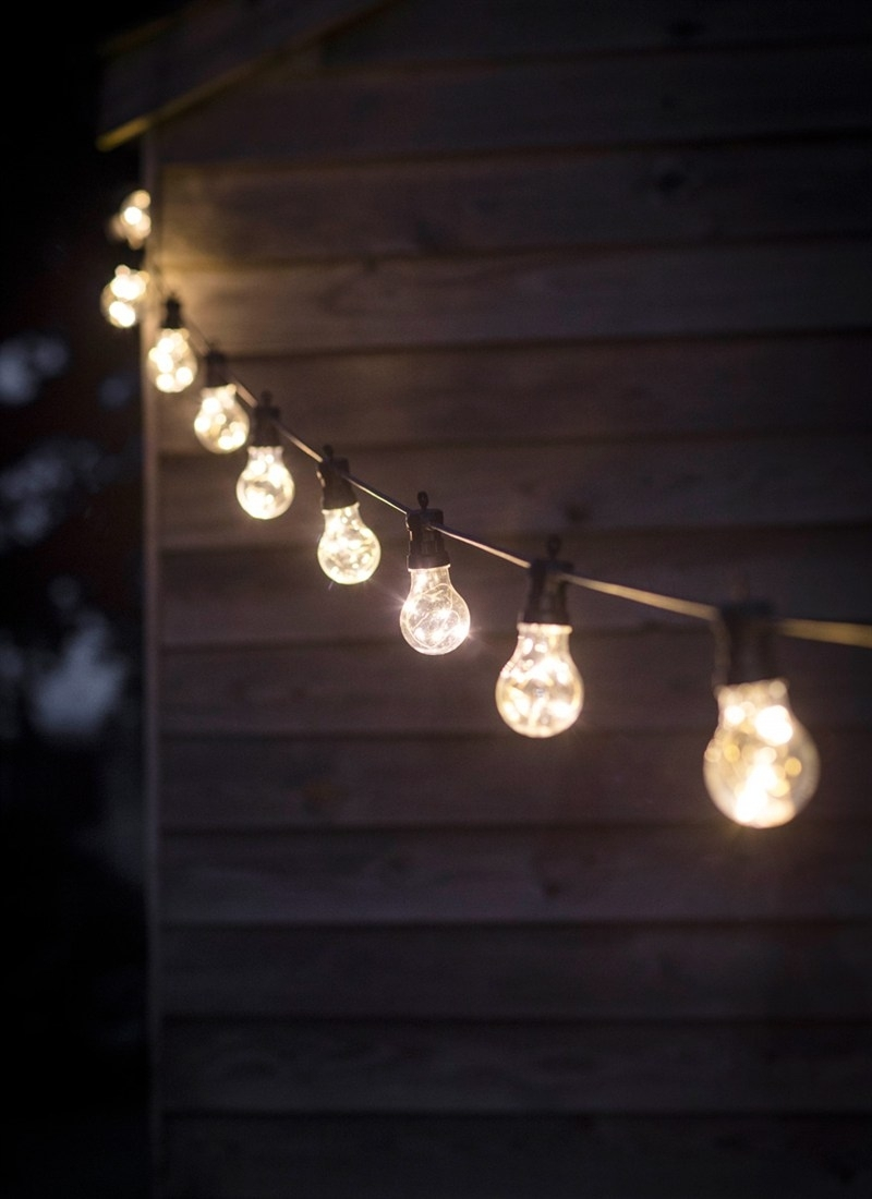 Festoon Lights, Classic  10 Bulbs | Garden Trading Throughout Outdoor Hanging Garden Lights (#6 of 15)