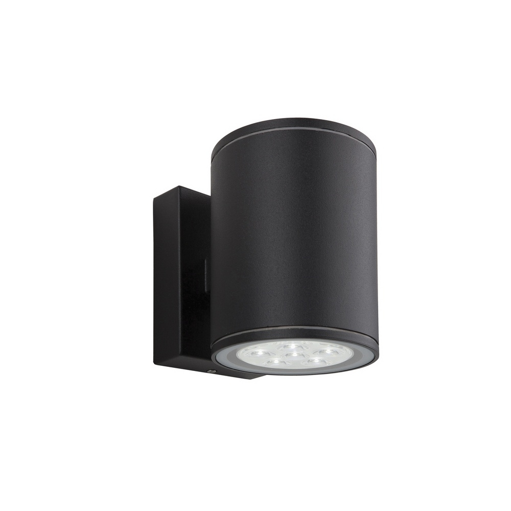 Popular Photo of Black Outdoor Led Wall Lights