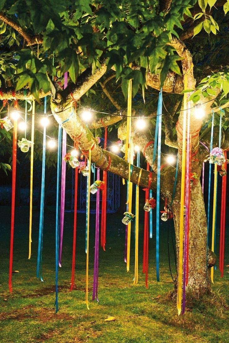 Fun Outdoor Birthday Party Décor Ideas | Outdoor Birthday Parties Pertaining To Outdoor Hanging Party Lanterns (#5 of 15)