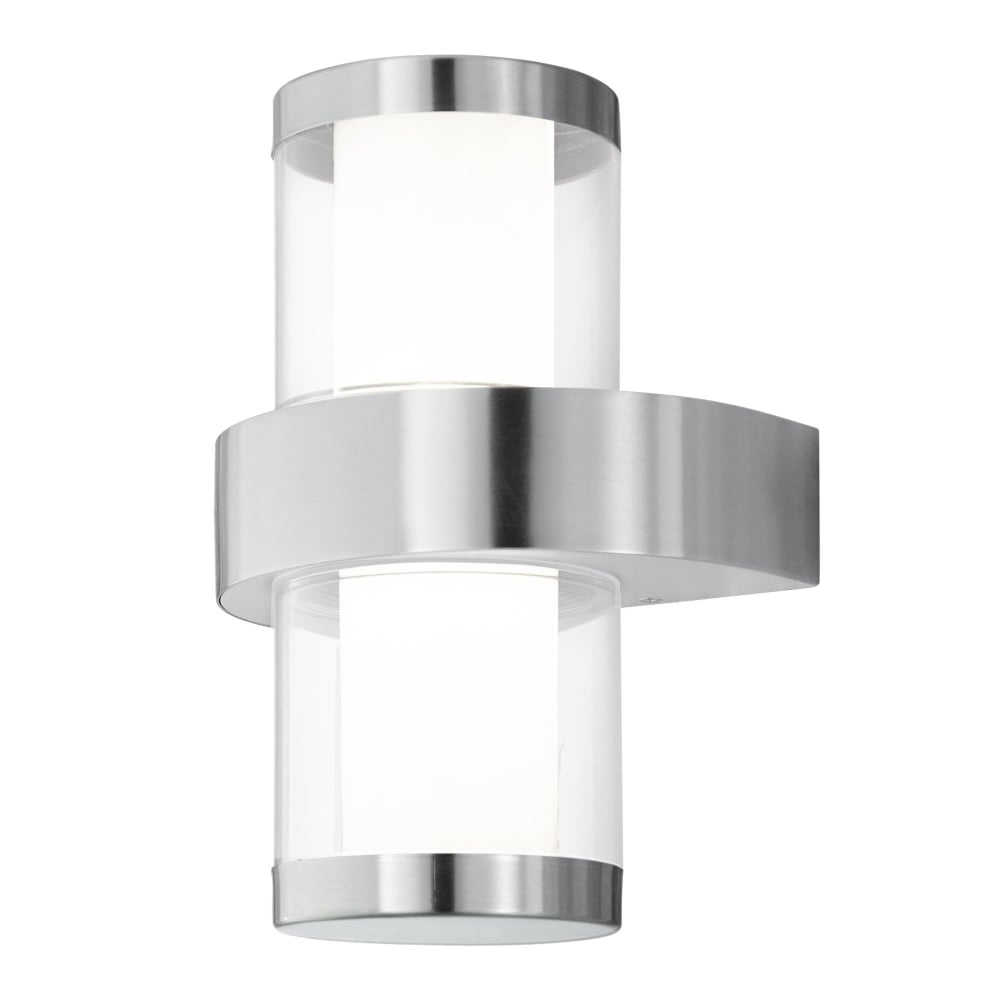 Furniture : Eglo Beverly Led Ip44 Outdoor Wall Light Stainless Steel Pertaining To Bunnings Outdoor Wall Lighting (#8 of 15)