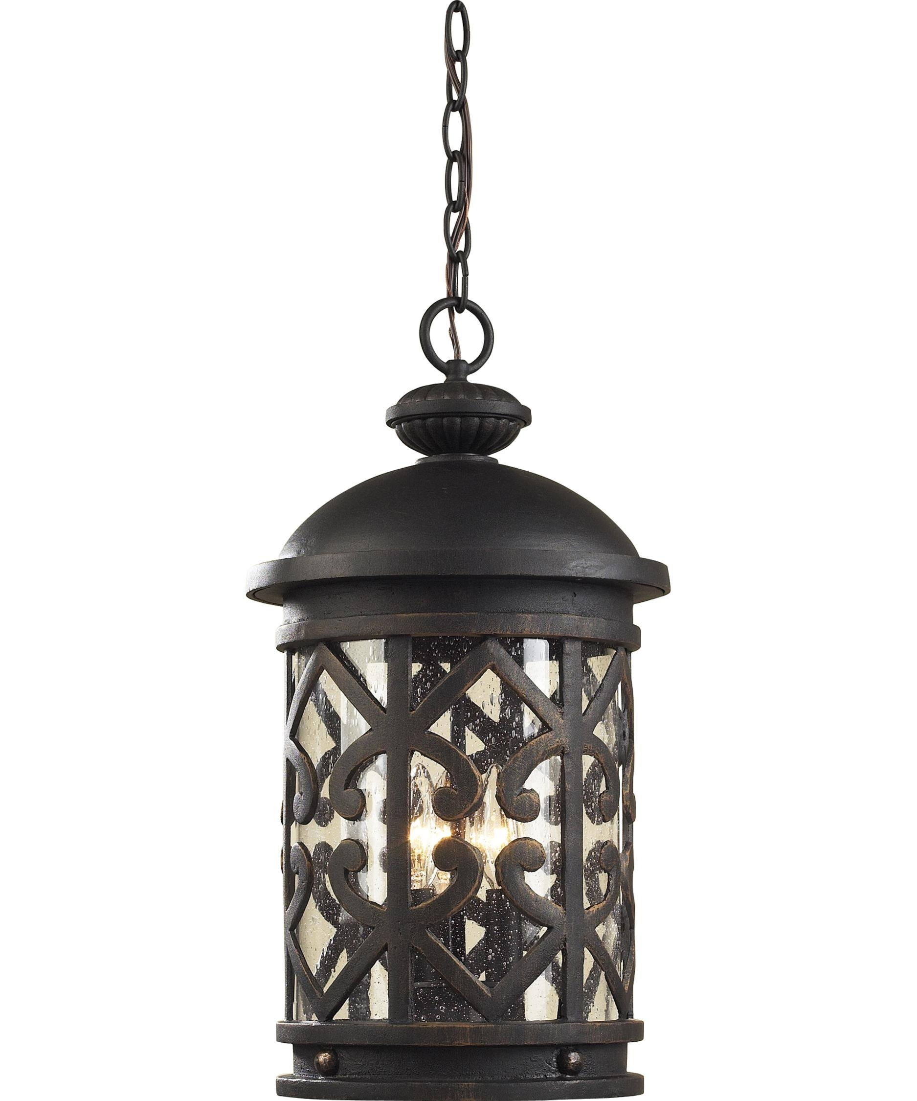 Furniture : Elk Lighting Tuscany Coast Inch Wide Light Outdoor Pertaining To Melbourne Outdoor Ceiling Lights (#8 of 15)