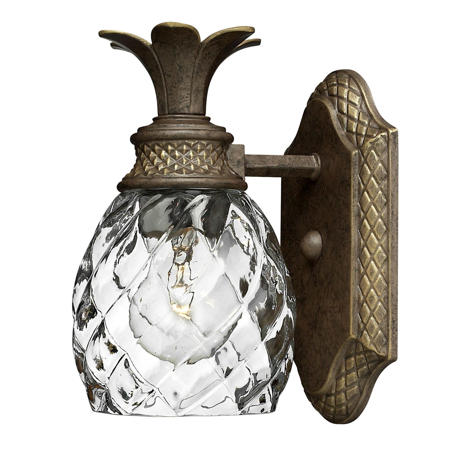 Furniture : Fresh Texas Pineapple Outdoor Lights Home Depot Hinkley In Pineapple Outdoor Wall Lights (#5 of 15)