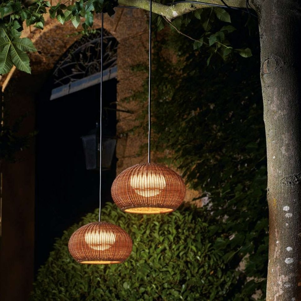 Furniture : Garota Outdoor Plug Pendant Light Bover With Use Gallery In Outdoor Hanging Plug In Lights (#4 of 15)