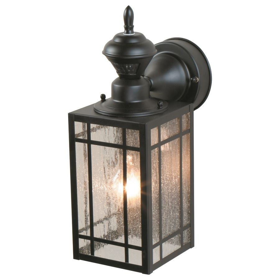 Furniture : Heath Zenith Black Motion Activated Outdoor Wall Light With Eglo Lighting Sidney Outdoor Wall Lights With Motion Sensor (#7 of 15)