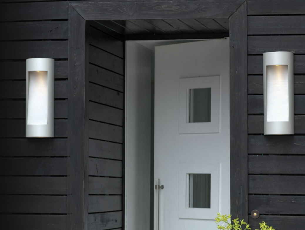 Furniture Idea: Alluring Modern Outdoor Wall Lights Combine With With Regard To Modern Outdoor Wall Lighting (#3 of 15)