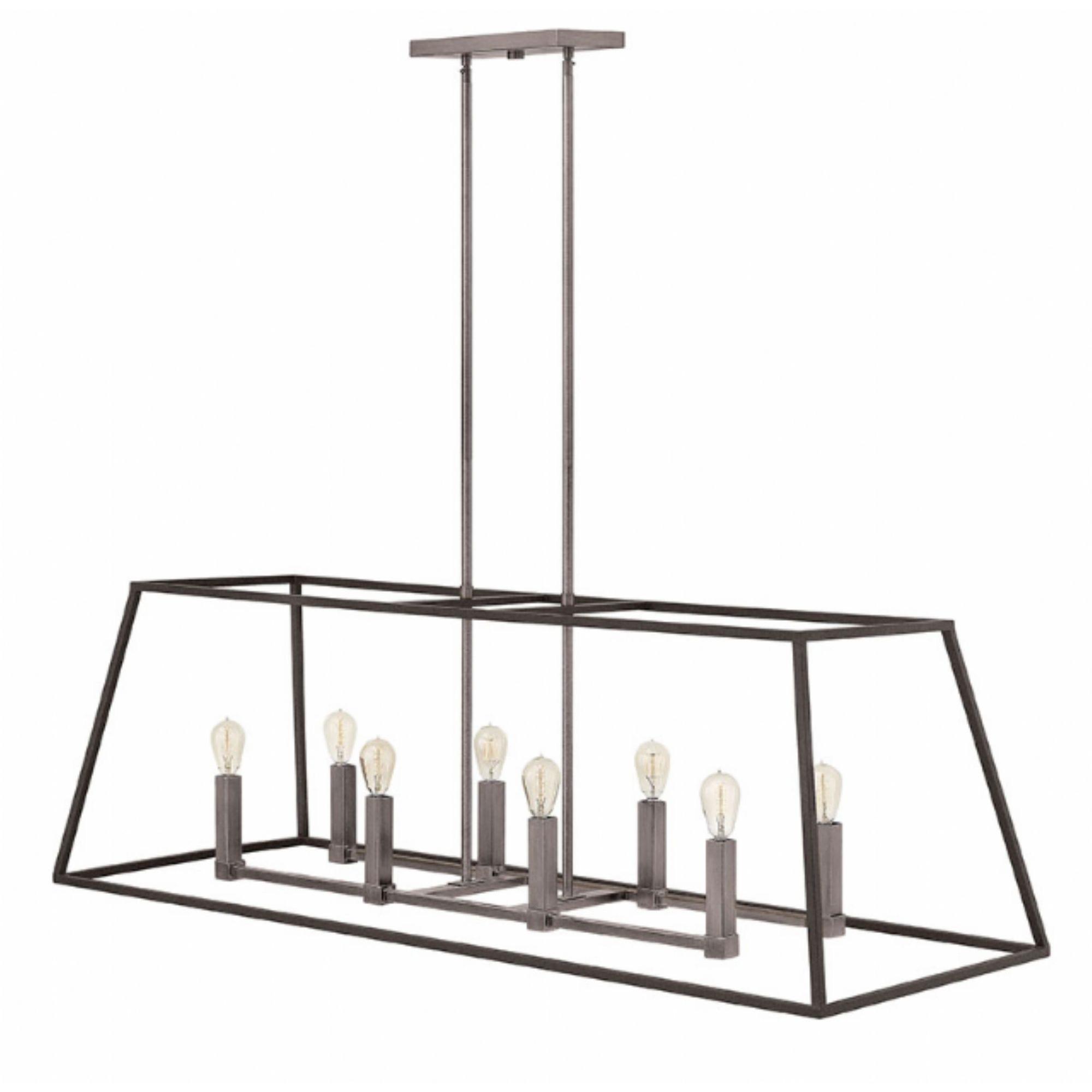 Furniture Idea: Tempting Linear Chandelier & Double Chandelier Regarding Modern Latern Hinkley Lighting (View 5 of 15)