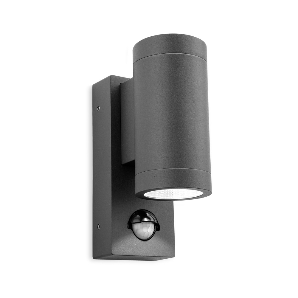 Furniture : Shelby Led Graphite Outdoor Wall Light Lights Ebay With Outdoor Wall Lighting At Ebay (#6 of 15)