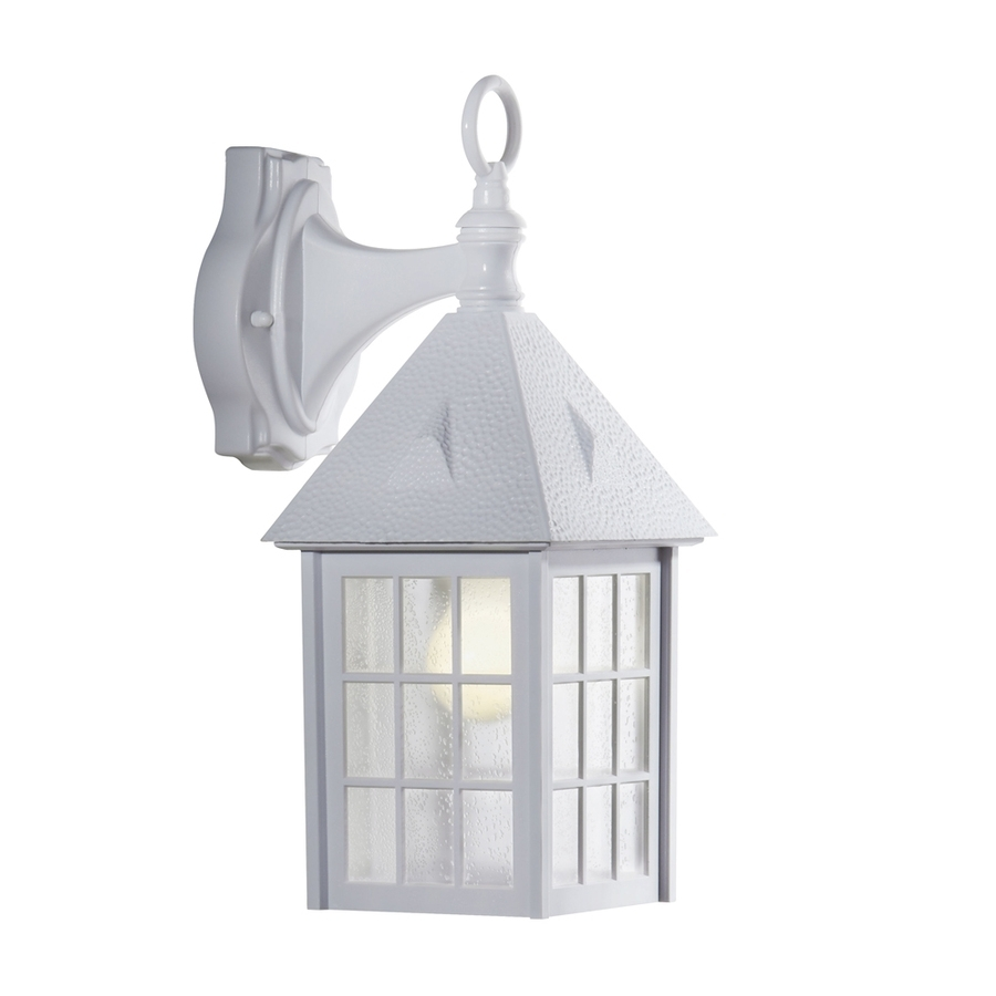 Furniture : Shop Portfolio White Outdoor Wall Light Plastic Fixtures Throughout Plastic Outdoor Wall Light Fixtures (View 14 of 15)