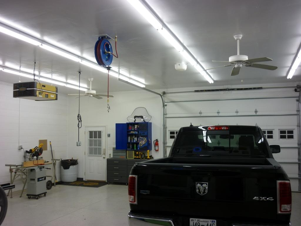 Garage Lighting Tips Intended For Outdoor Garage Ceiling Lights (#8 of 15)