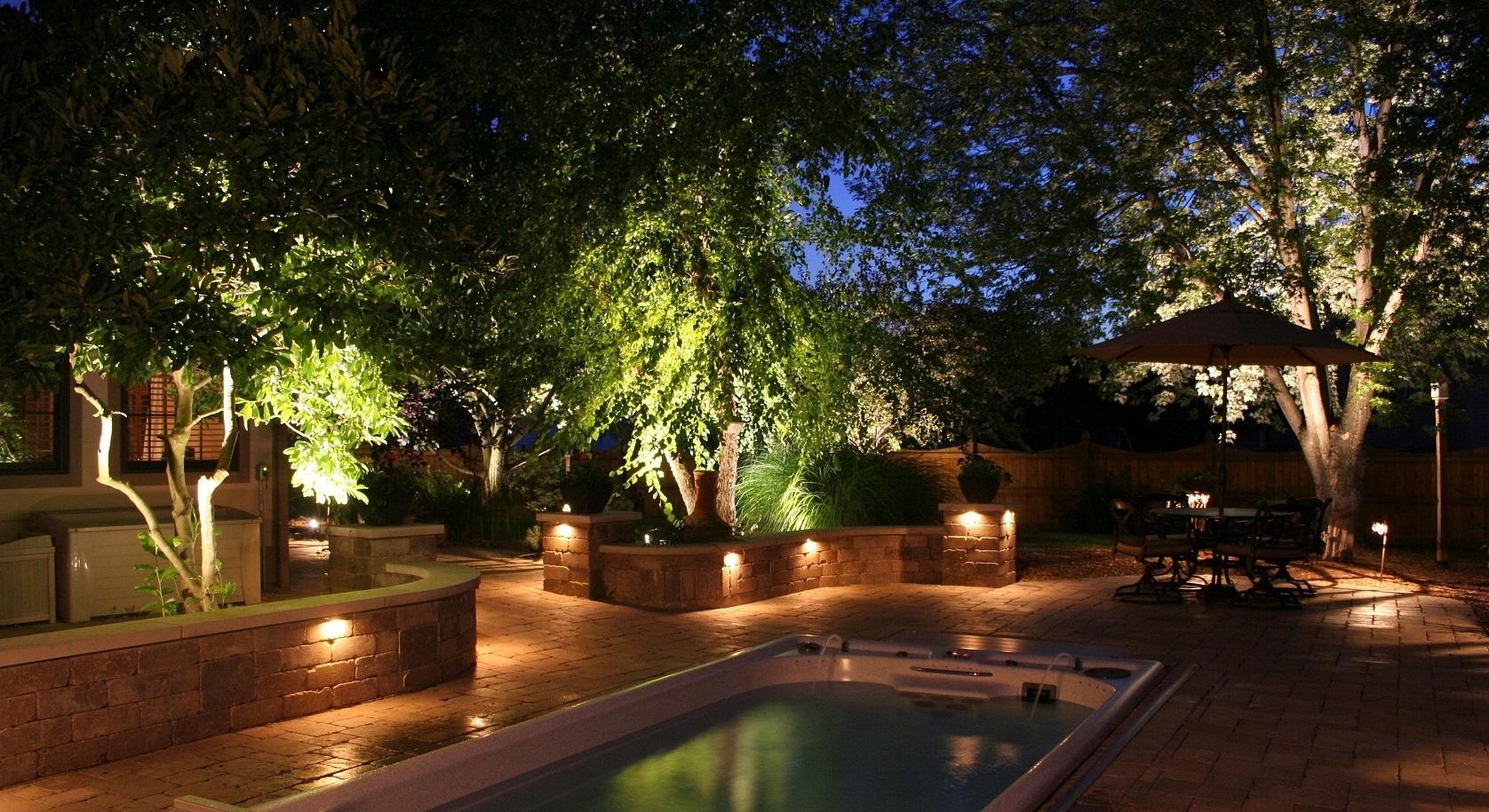 Inspiration about Garden Outdoor Lighting. 1 Garden Outdoor Lighting Y – Dumba.co Inside Modern Garden Landscape Lighting (#1 of 15)