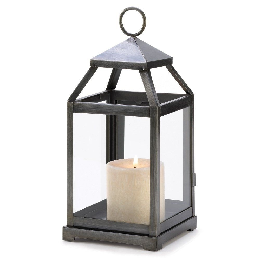 Gifts & Decor Rustic Silver Candle Holder Hanging Garden Lantern Inside Outdoor Hanging Candle Lanterns At Wholesale (#1 of 15)