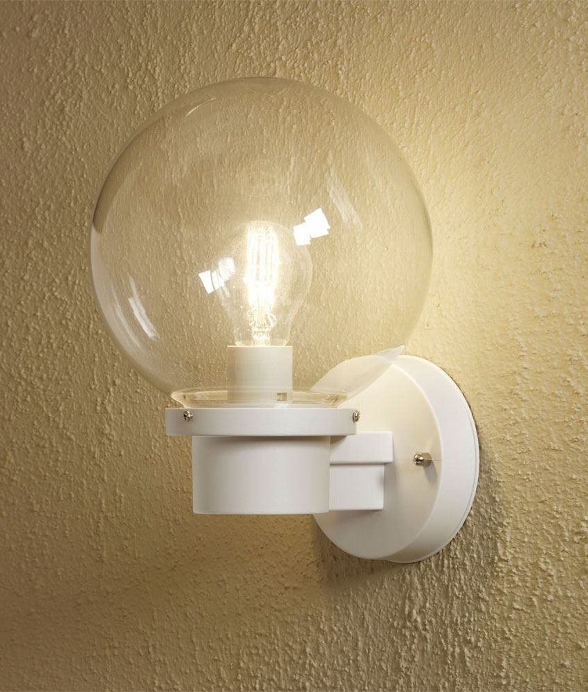 15 Photo Of Globe Outdoor Wall Lighting