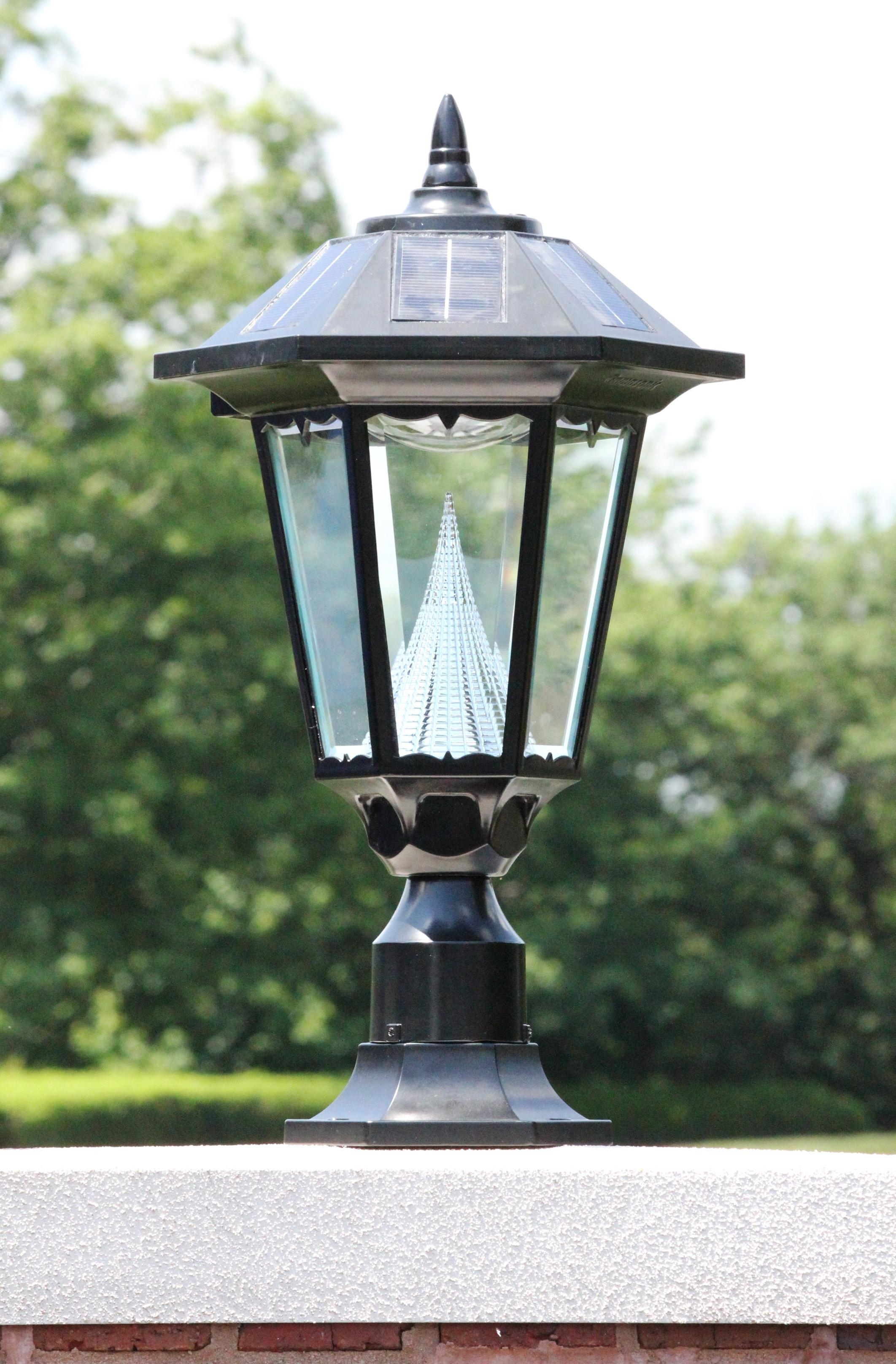 Good Outdoor Post Lights For Security With Regard To Modern Solar Driveway Lights At Target (#2 of 15)