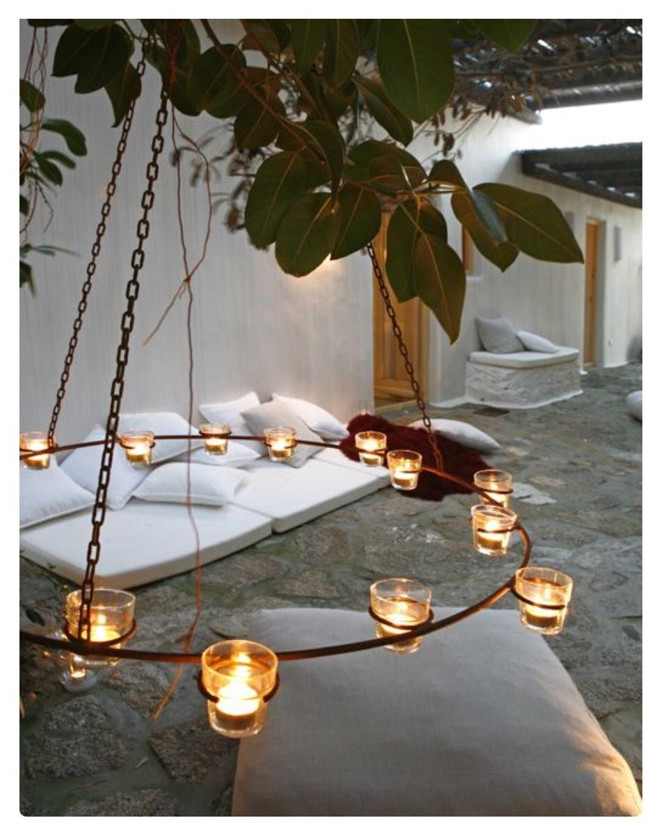 Inspiration about Gorgeous Tuscan Feel Lighting | Lighting The Way | Pinterest With Outdoor Hanging Tea Lights (#11 of 12)