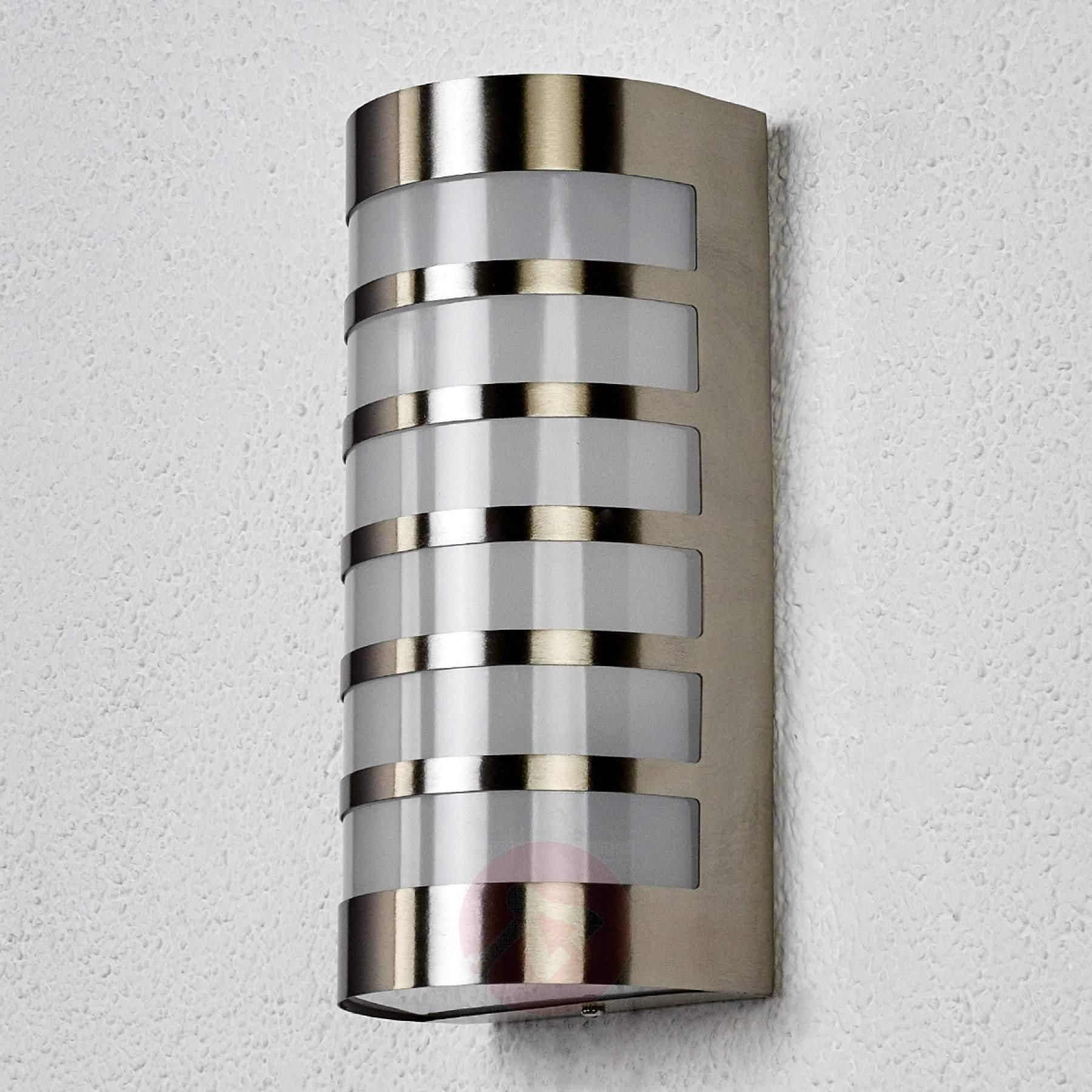 Inspiration about Graceful Stainless Steel Outdoor Wall Light Alvin, Stainless Steel Throughout Stainless Steel Outdoor Ceiling Lights (#15 of 15)