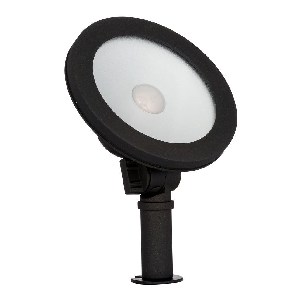 Hampton Bay Low Voltage 50 Watt Equivalent Black Outdoor Integrated In Outdoor Wall Washer Led Lights (#5 of 15)