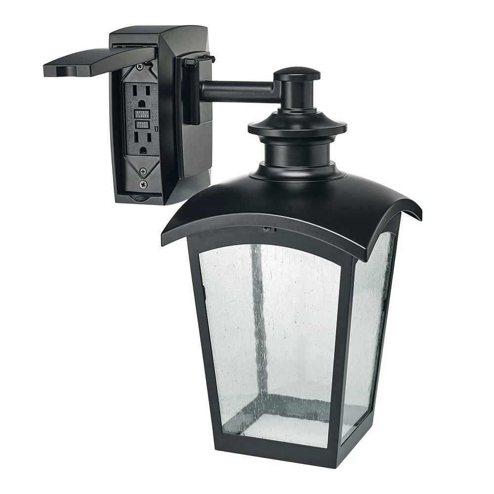 Outdoor Lamp Clearance: 15 Collection Of Outdoor Wall Lights With Plug