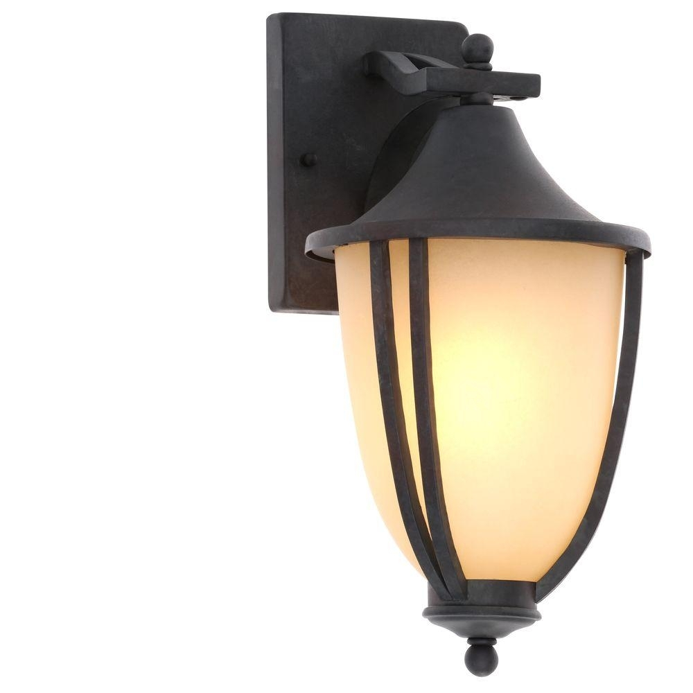 Hampton Bay – Outdoor Wall Mounted Lighting – Outdoor Lighting – The Within Hampton Bay Outdoor Lighting And Lamps (#3 of 15)