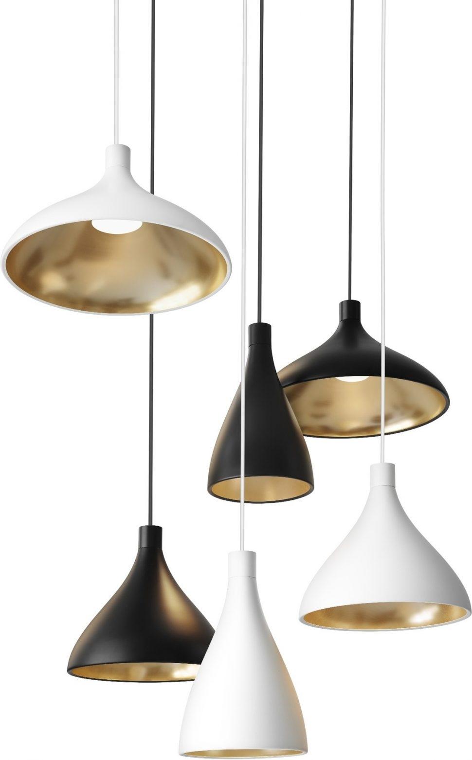 Hanging Bar Lights Kitchen Pendant Lighting Fixtures Modern Glass Intended For Modern Pendant Lighting Fixtures (#6 of 15)