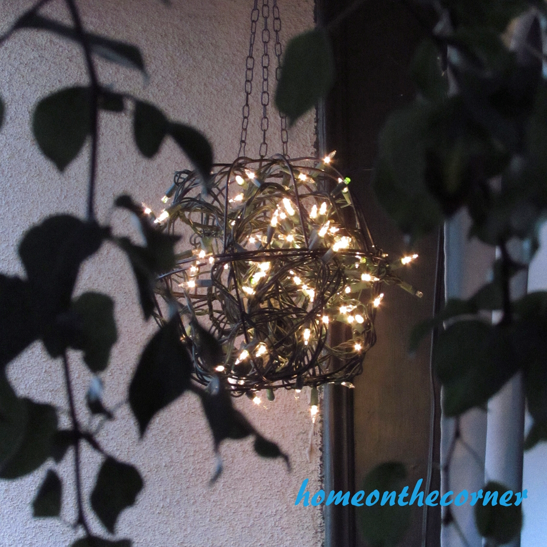 Hanging Flower Basket Light – Home On The Corner With Regard To Outdoor Hanging Basket Lights (#9 of 15)