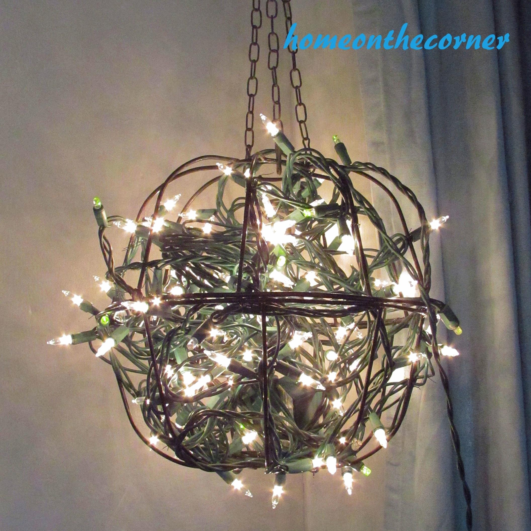 Hanging Flower Basket Light – Home On The Corner With Regard To Outdoor Hanging Basket Lights (#8 of 15)