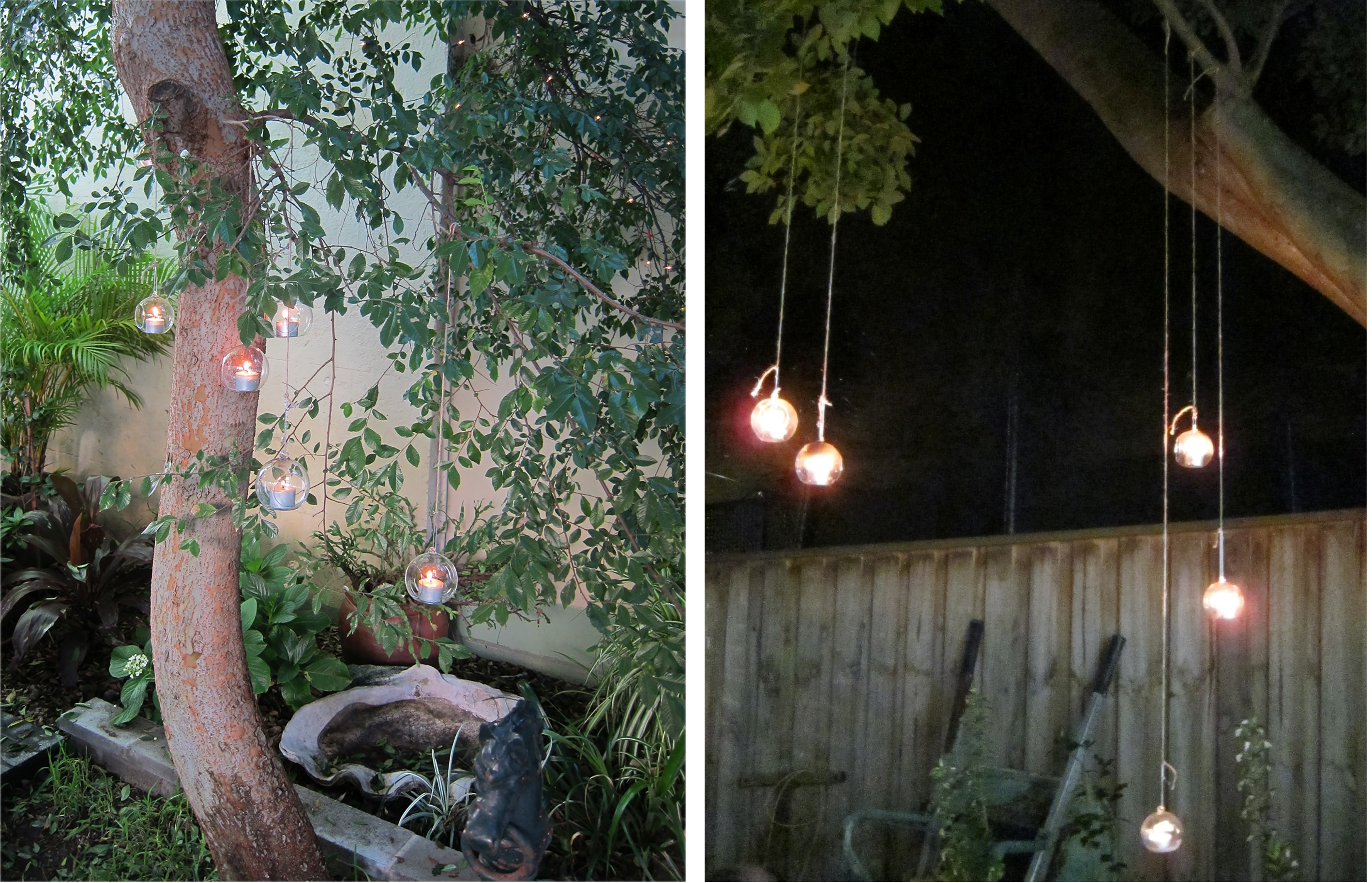 Hanging Glass Teardrop Candle Holders – Lighting Outdoor Areas Regarding Outdoor Hanging Tea Lights (View 5 of 12)