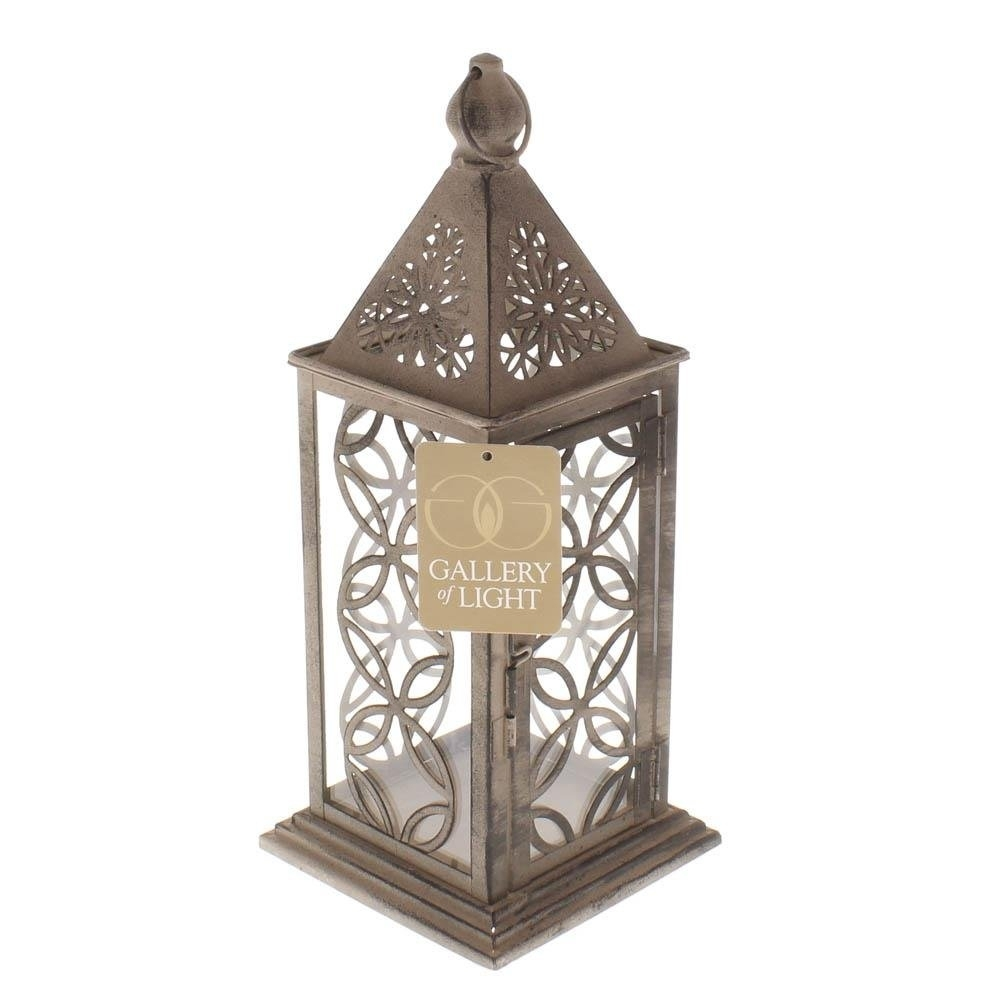 Hanging Lanterns, Small Eclipse Metal Decorative Patio Rustic Within Outdoor Hanging Metal Lanterns (View 4 of 15)
