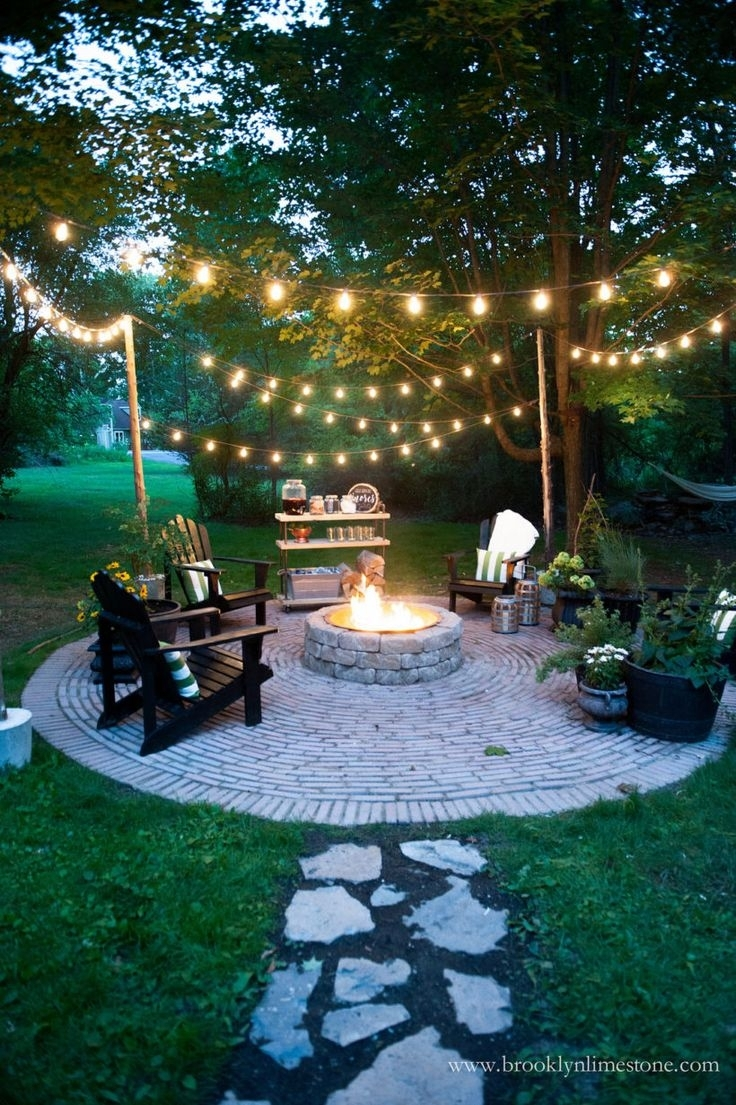Hanging Outdoor Lights For Backyard | Beautiful Chandeliers In Hanging Outdoor Lights In Backyard (#6 of 15)