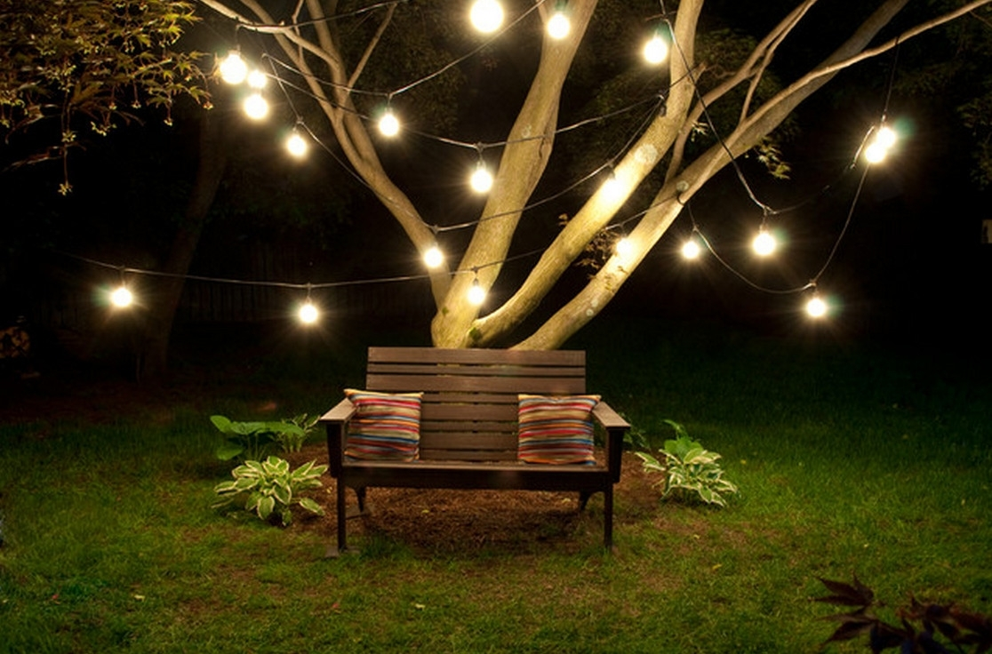 Hanging Outdoor Lights On Tree : The Best Hanging Outdoor Lights Within Outdoor Low Voltage Hanging Tree Lights (View 8 of 15)