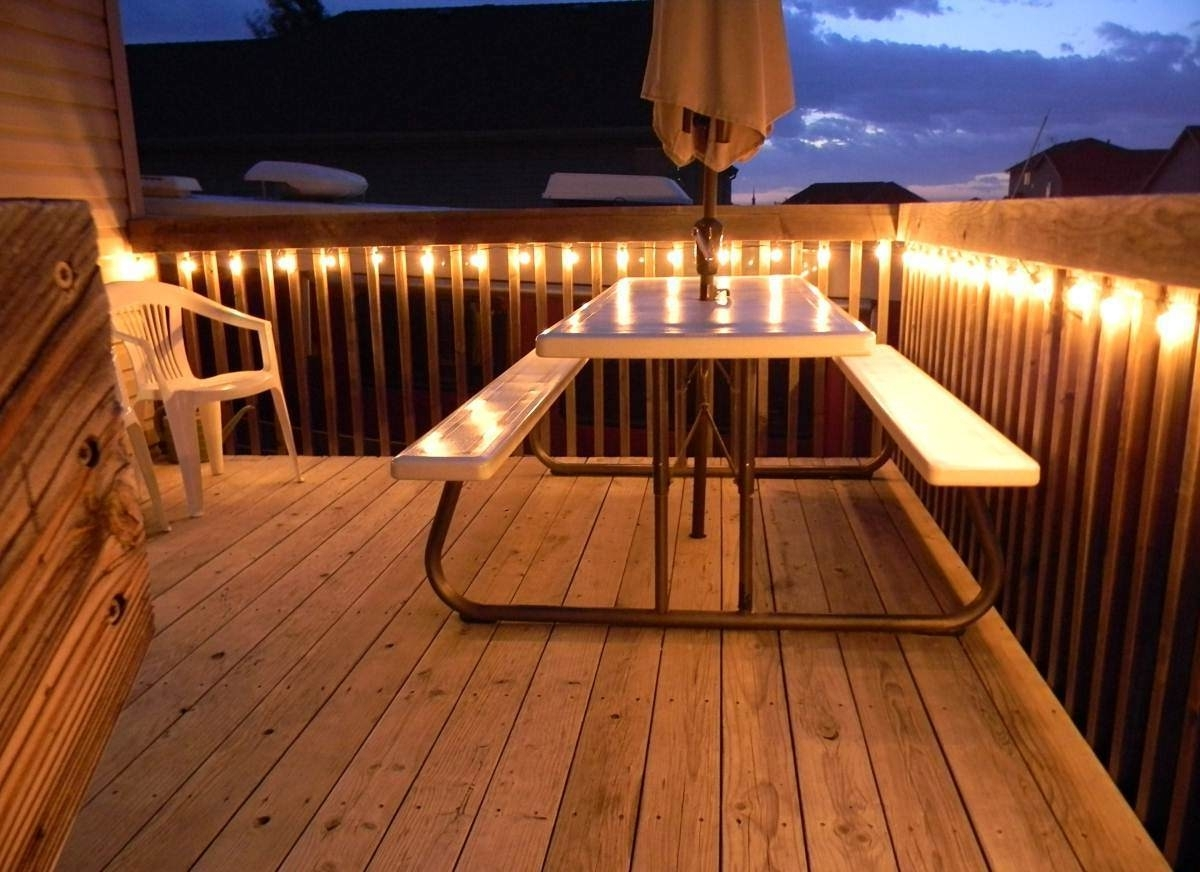 Hanging Outdoor Patio String Lights : Enjoy The Outdoor Patio String Throughout Outdoor Hanging Deck Lights (View 12 of 15)