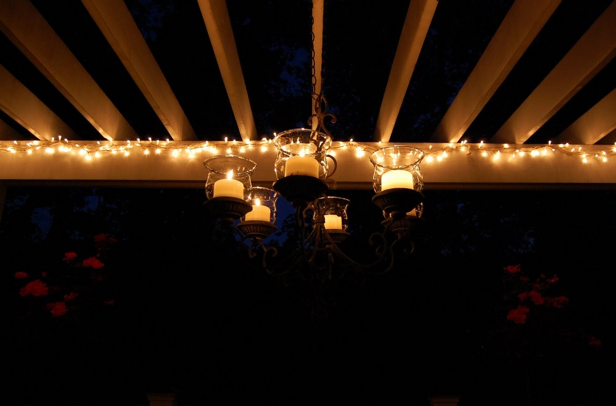 Hanging Outdoors String How To Decorate Your Patio With Tree Led In Solar Hanging Outdoor Patio Lights (#5 of 15)