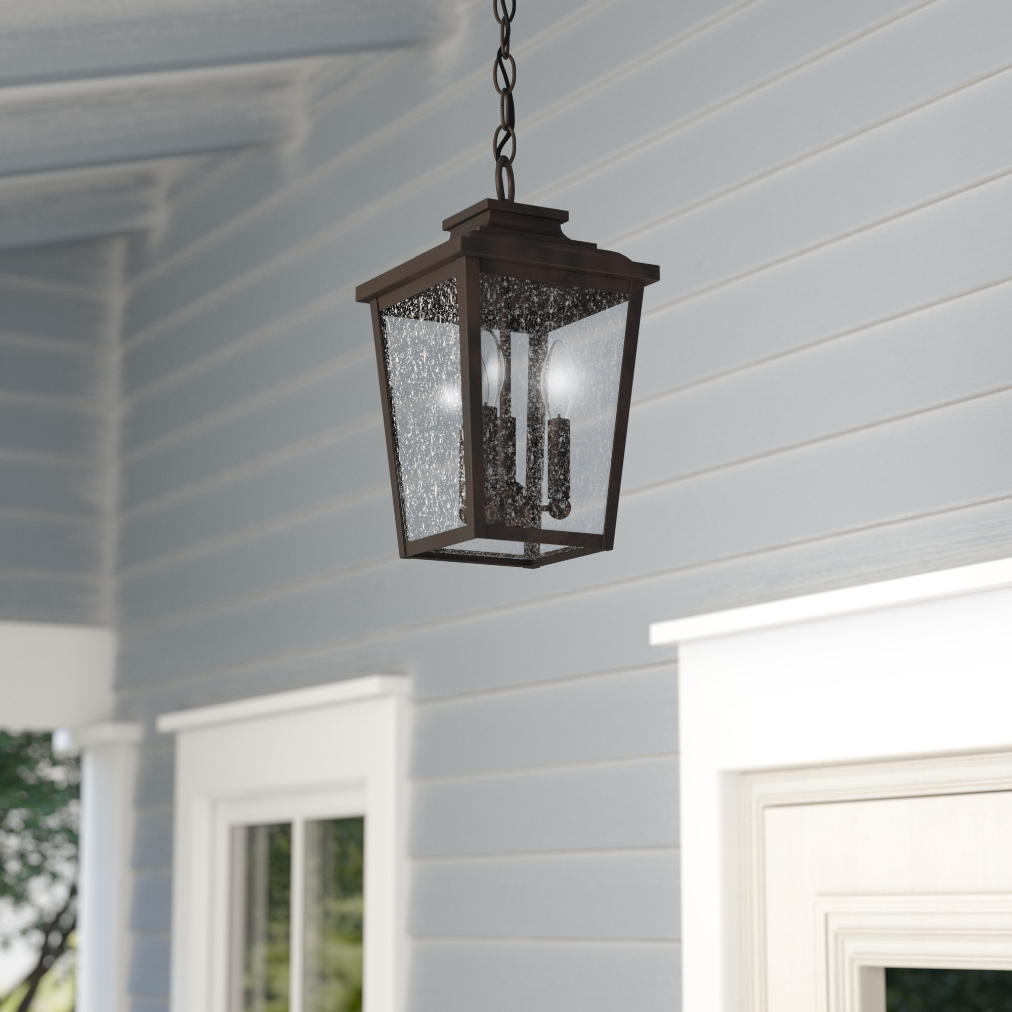 Hanging Porch Lights Attractive Outdoor Light Wayfair In 9 Regarding Modern Outdoor String Lights At Wayfair (#4 of 15)