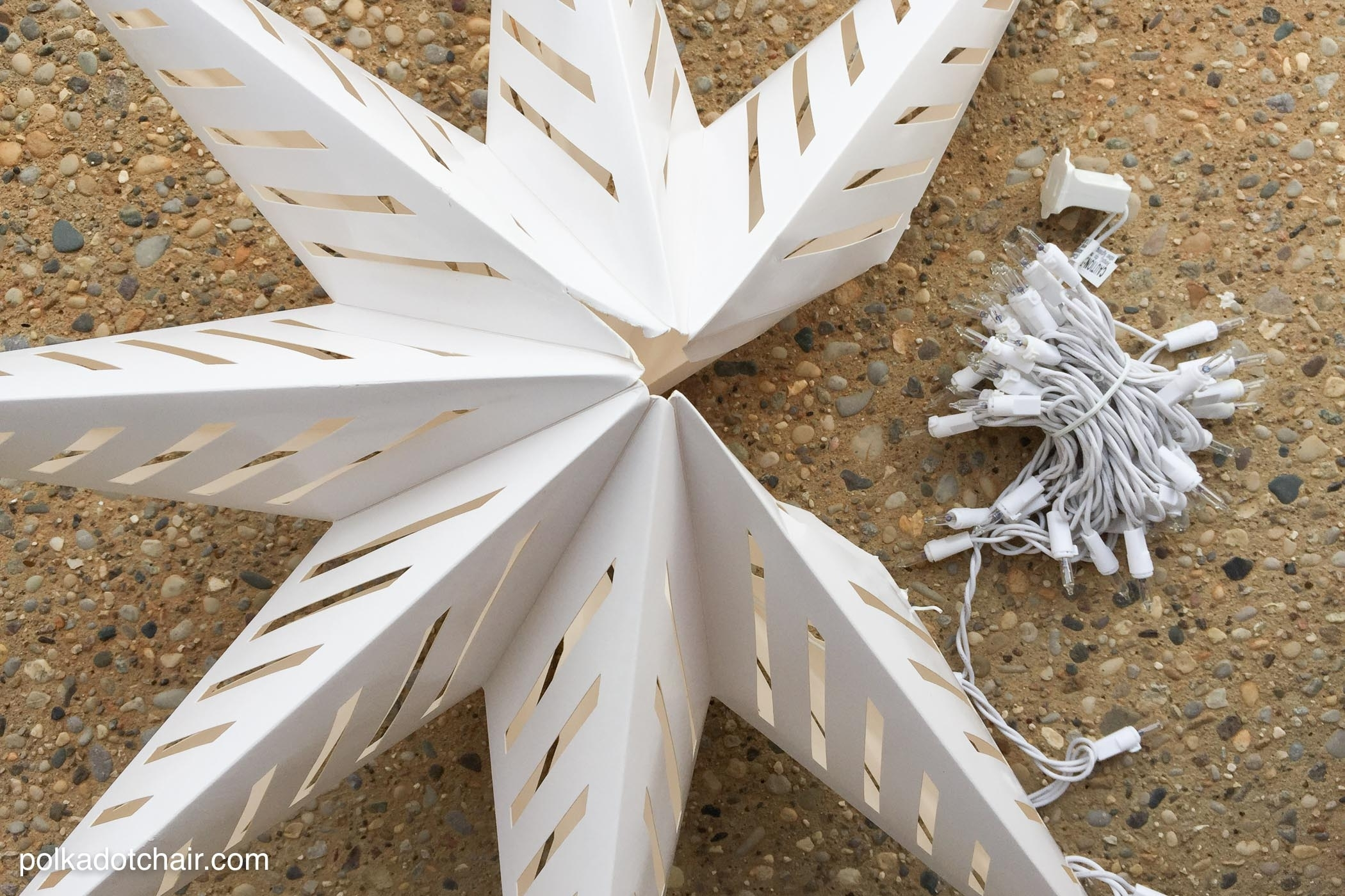 Hanging Star Lanterns; A Christmas Front Porch Decorating Idea – The Regarding Outdoor Hanging Star Lanterns (#6 of 15)