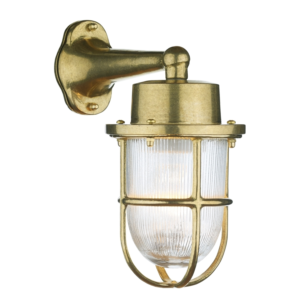 Harbour Outdoor Wall Light Brass Within Brass Outdoor Wall Lighting (#10 of 15)