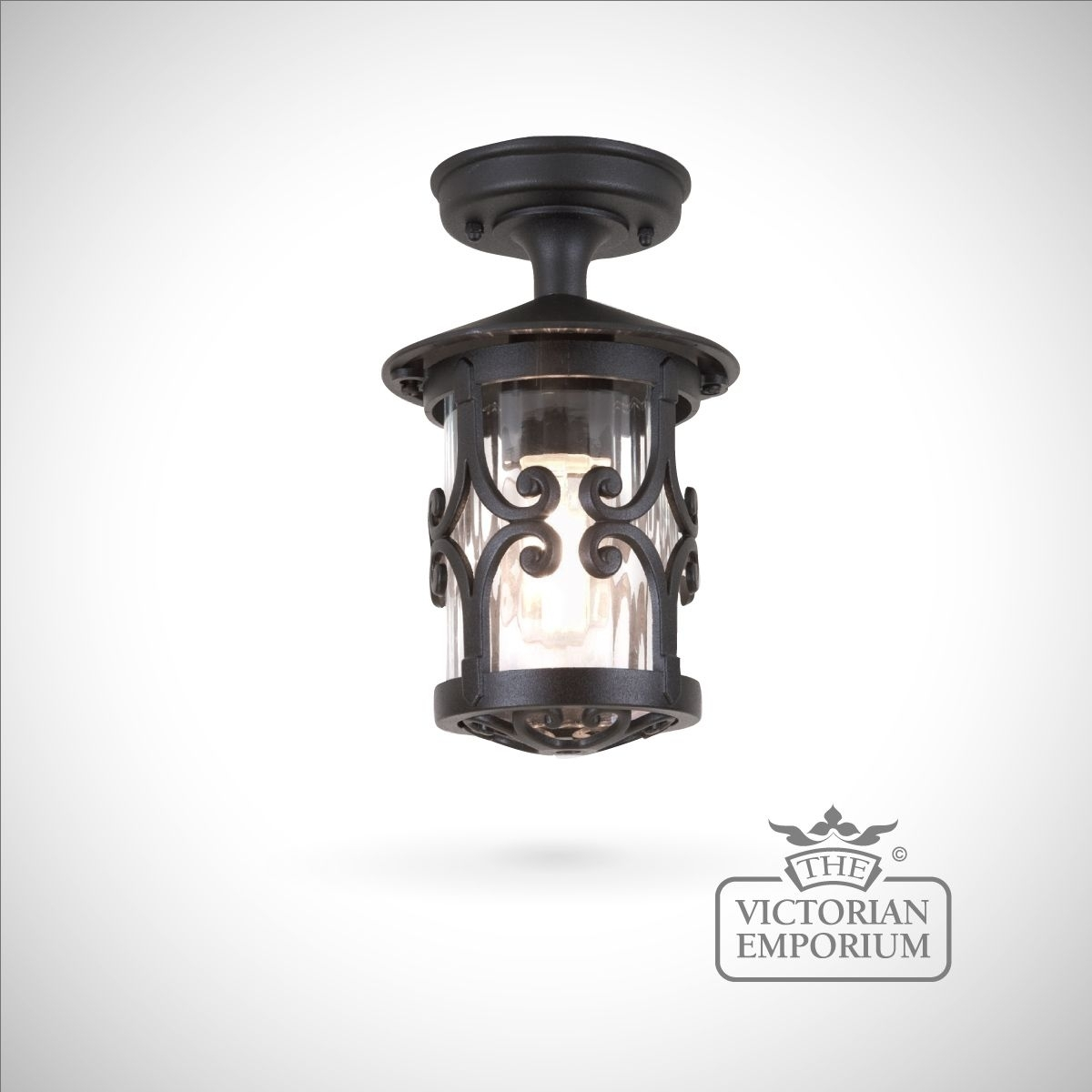 Hereford Rigid Tube Lantern | Exterior Ceiling Lights With Regard To Decorative Outdoor Ceiling Lights (#6 of 15)