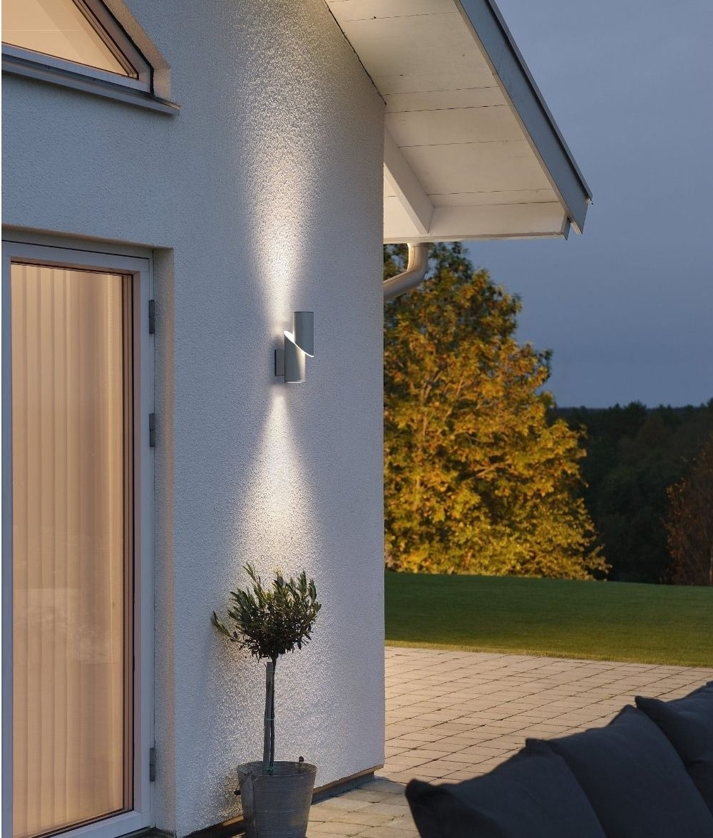 High Powered Led Exterior Up Down Wall Light | Beleuchtung Regarding Johannesburg Outdoor Wall Lights (View 10 of 15)