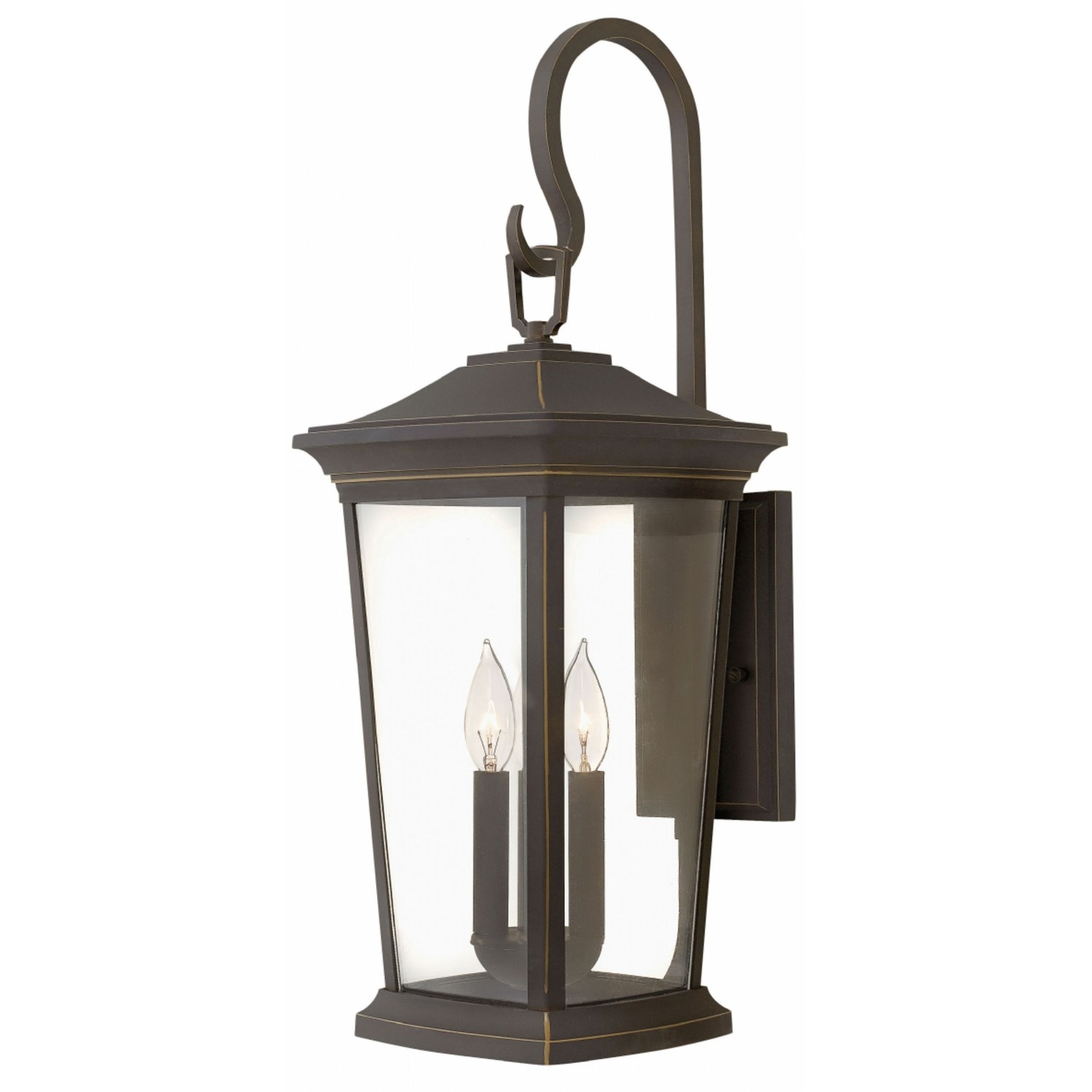 Hinkley 2366Oz Bromley 3 Light Outdoor Medium Wall Mount In Oil Within Modern Latern Hinkley Lighting (#6 of 15)
