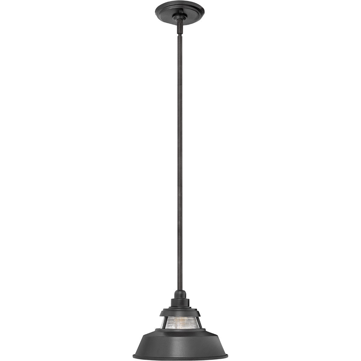 Hinkley Lighting 1192Bk Troyer 1 Light 10 Inch Black Outdoor Hanging Within Outdoor Hanging Lights At Ebay (View 10 of 15)