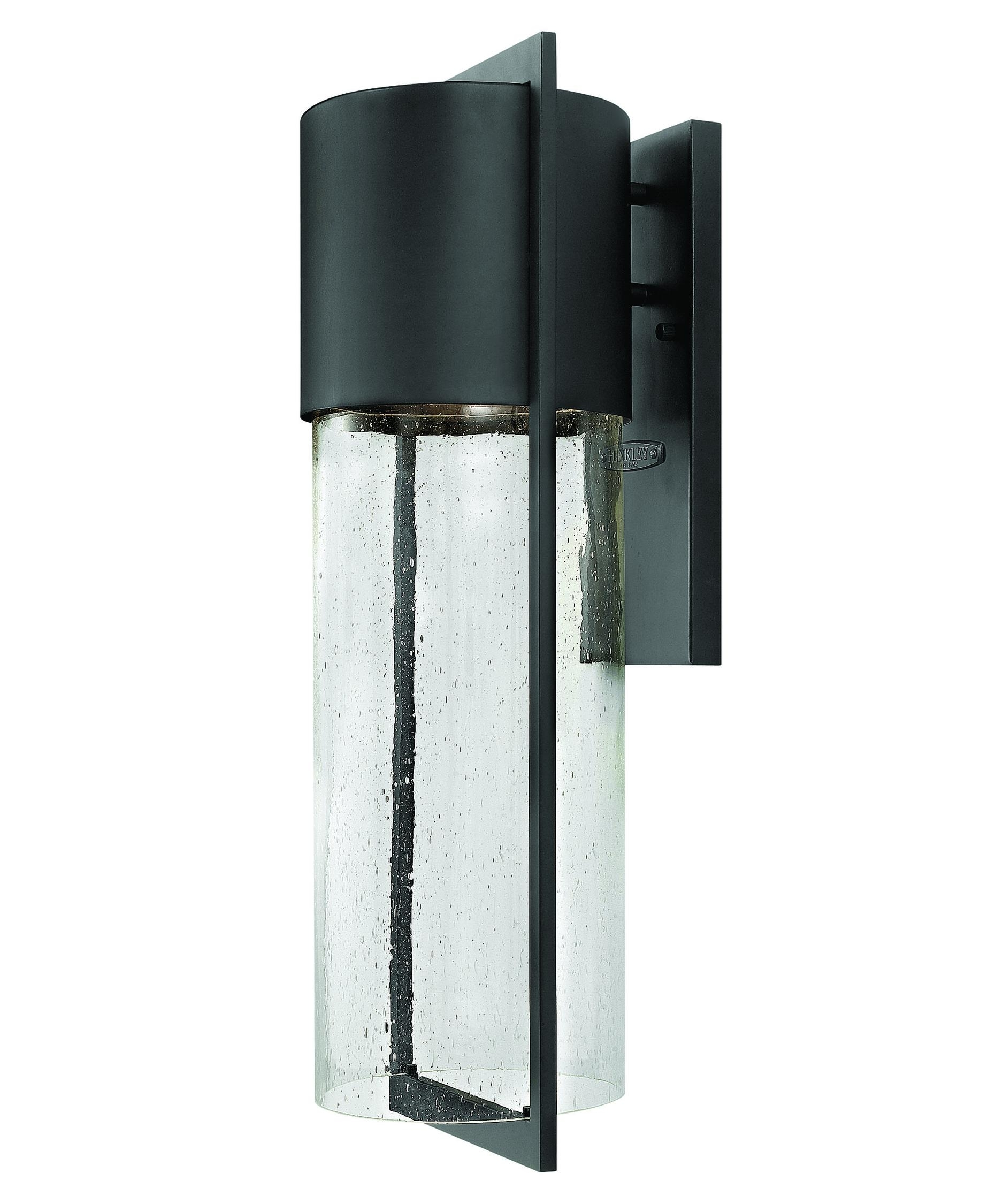 Hinkley Lighting 1325 Shelter 8 Inch Wide 1 Light Outdoor Wall Light Pertaining To Modern Led Hinkley Lighting (#4 of 15)