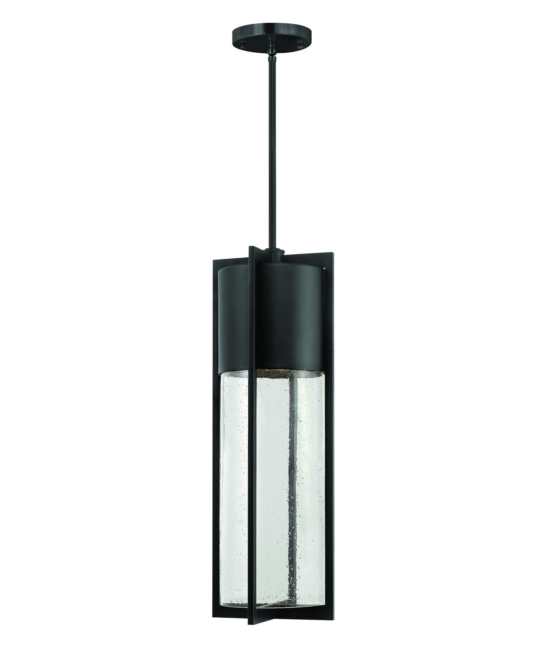 Hinkley Lighting 1328 Shelter 8 Inch Wide 1 Light Outdoor Hanging Throughout Modern Led Hinkley Lighting (#5 of 15)