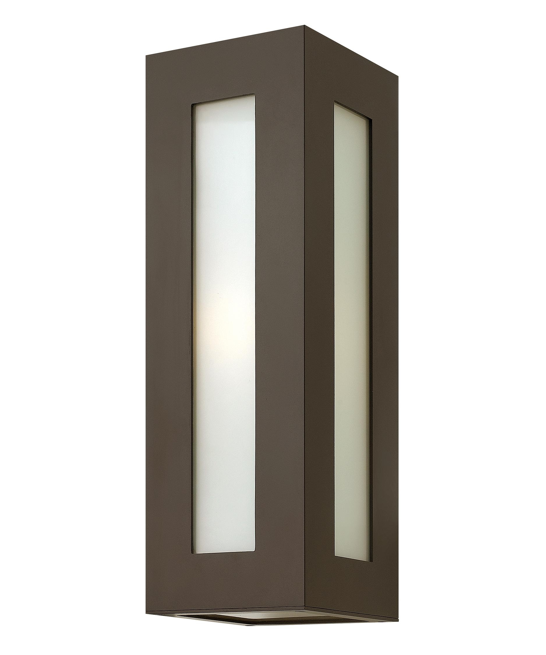 Hinkley Lighting 2194 Dorian 6 Inch Wide 1 Light Outdoor Wall Light Within Contemporary Hinkley Lighting (#10 of 15)