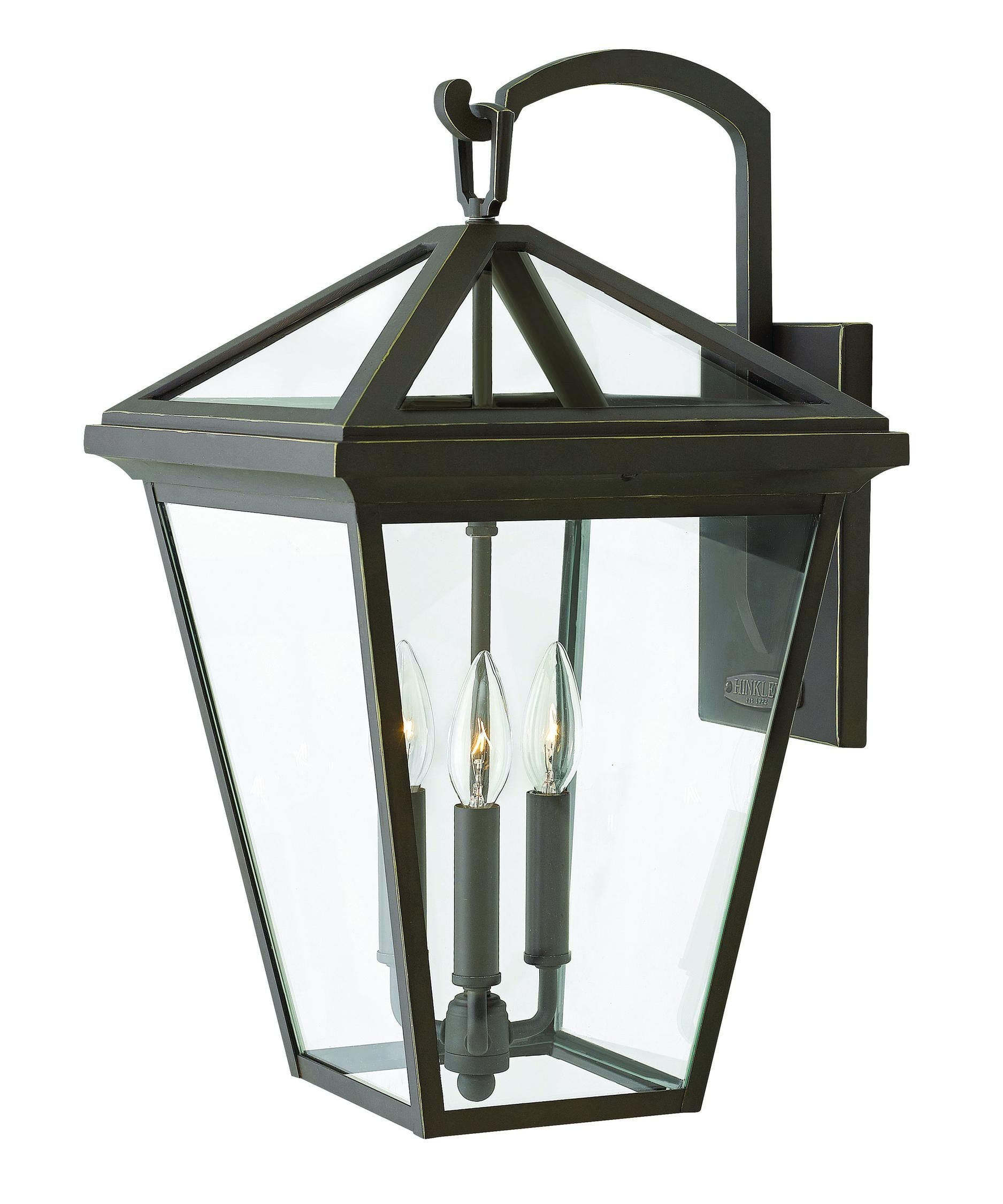 Hinkley Lighting 2565 Alford Place 3 Light Outdoor Wall Light | Pool Inside Extra Large Wall Mount Porch Hinkley Lighting (View 5 of 15)
