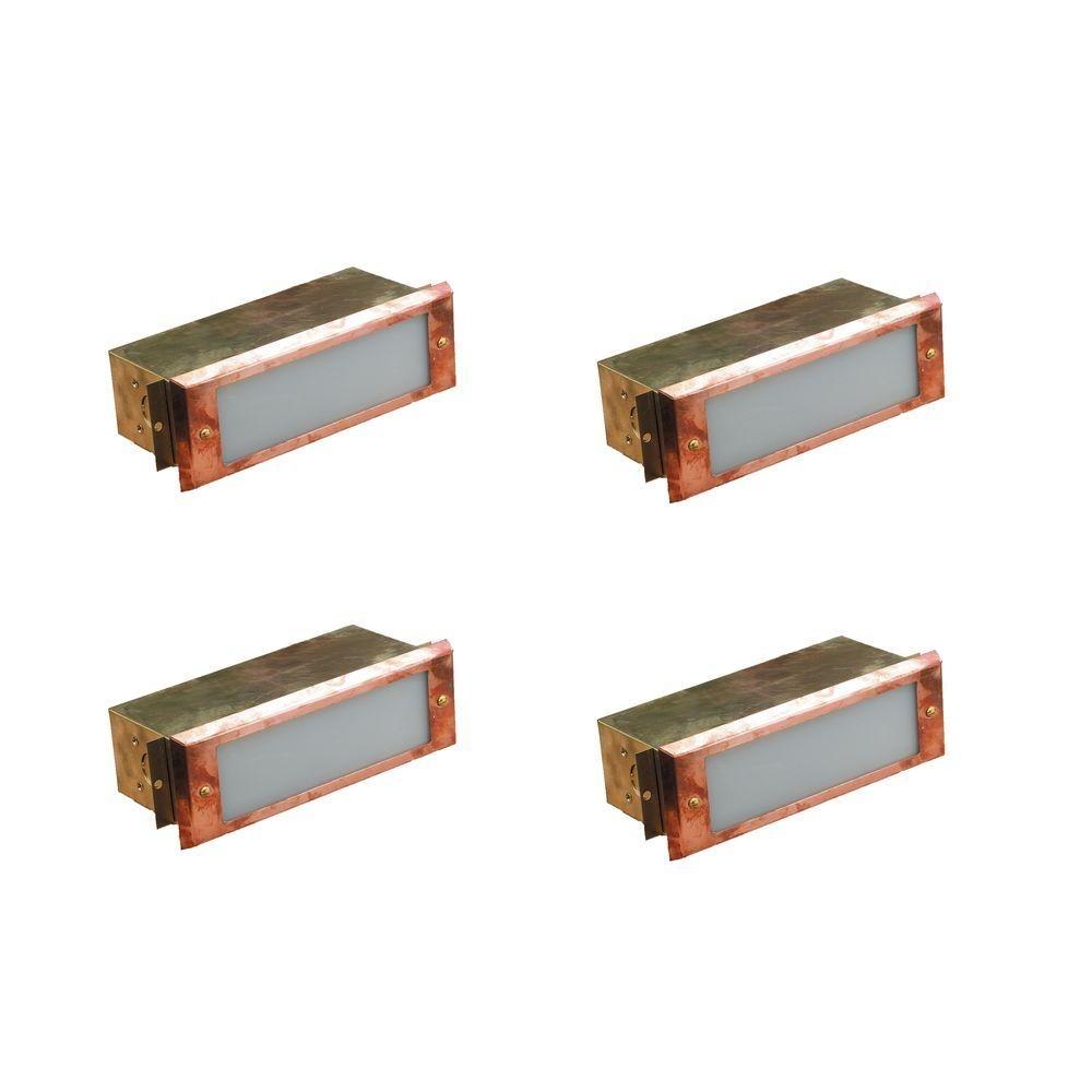 Hinkley Lighting Low Voltage 12 Watt Bronze Cast Aluminum Vertical Regarding Garden Low Voltage Deck Lighting (#5 of 15)