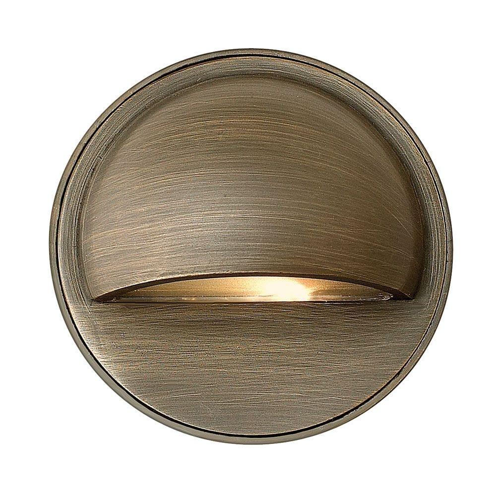 Hinkley Lighting Low Voltage 20 Watt Matte Bronze Hardy Outdoor Throughout Low Voltage Outdoor Wall Lights (#4 of 15)