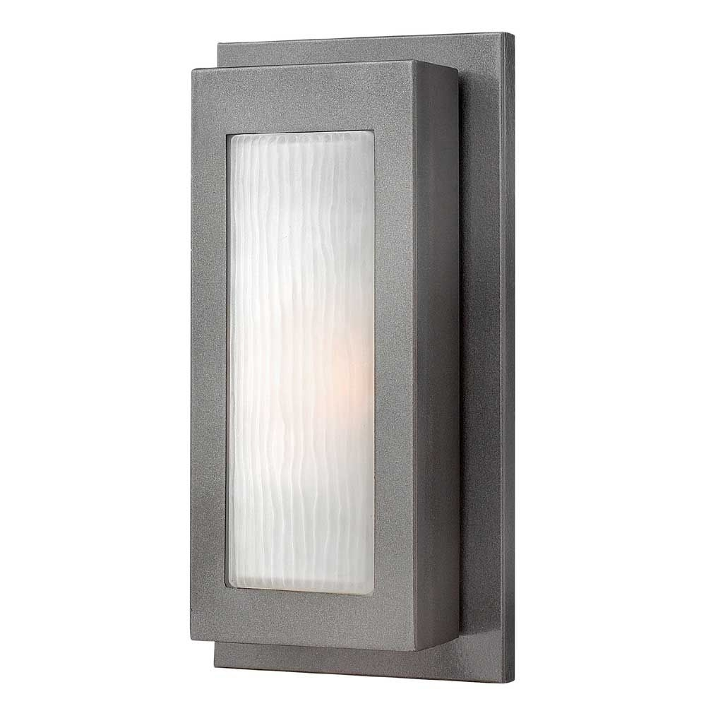 Hinkley Lighting Titan Small Wall Outdoor | Affordable & Unique In Large Wall Mount Hinkley Lighting (#8 of 15)