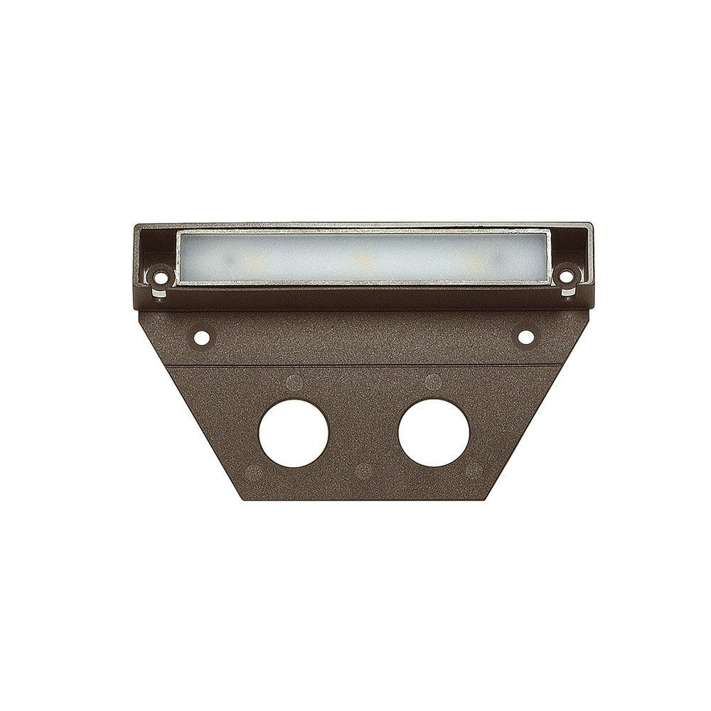 Hinkley Lighting Ultra Warm Bronze Integrated Led Hardscape Light With Modern Low Voltage Deck Lighting At Home Depot (#7 of 15)