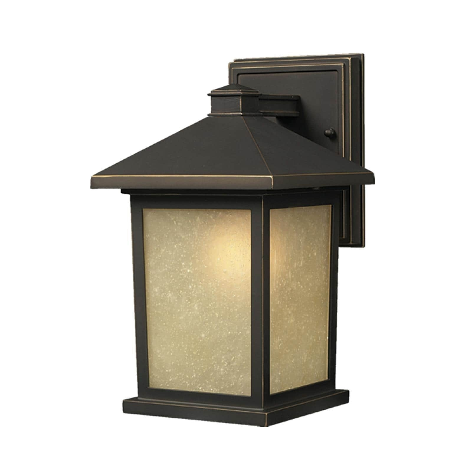 Holbrook 1 Light Oil Rubbed Bronze Outdoor Wall Light – Free With Regard To Oil Rubbed Bronze Outdoor Wall Lights (#7 of 15)