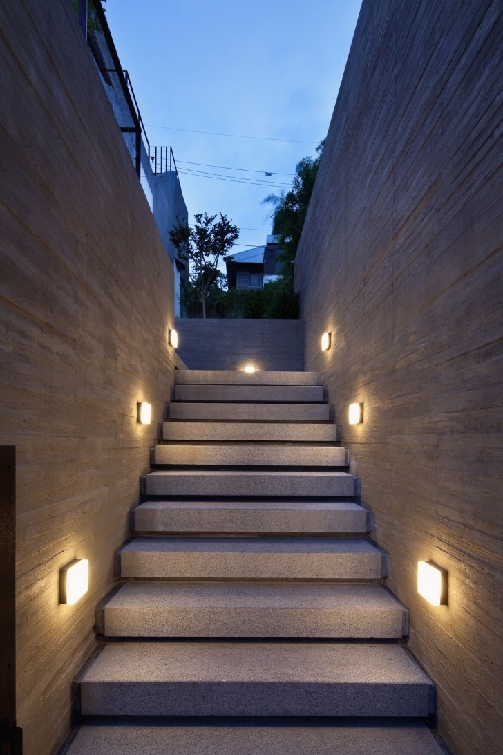Home & Apartment, The Series Of Modern Lighting Mounted On Outdoor Inside Outdoor Stone Wall Lighting (View 15 of 15)